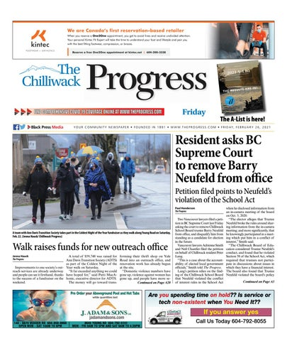 Chilliwack Progress, February 26, 2021