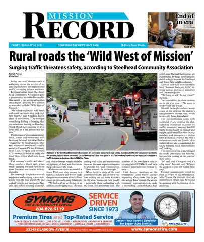 Mission City Record, February 26, 2021