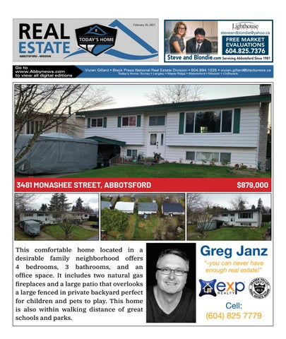 February 26, 2021 Real Estate Weekly - Abbotsford