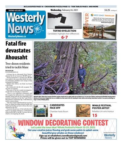 Tofino-Ucluelet Westerly News, February 24, 2021