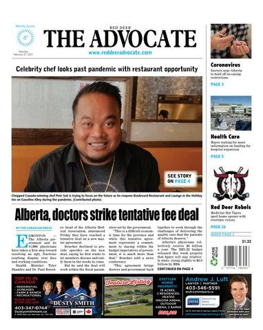 Red Deer Advocate, February 27, 2021