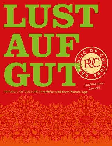 LUST AUF GUT Magazin | Frankfurt Nr. 190