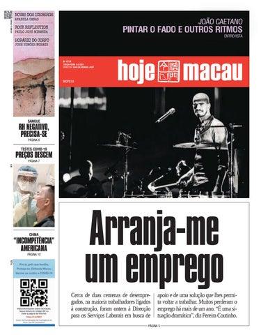 Hoje Macau 2 MAR 2021 #4719