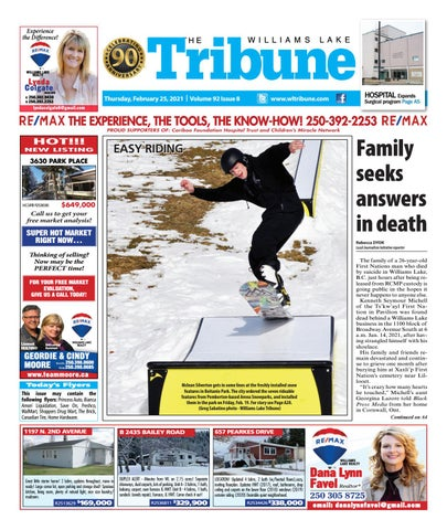 Williams Lake Tribune, February 25, 2021