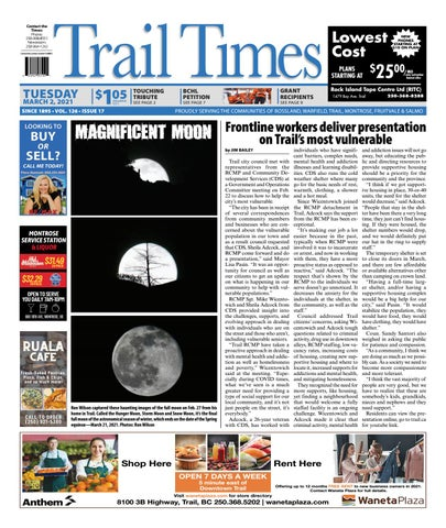 Trail Daily Times/West Kootenay Advertiser, March 2, 2021