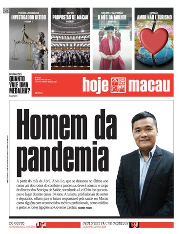 Hoje Macau 3 MAR 2021 #4720