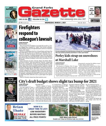 Grand Forks Gazette/West Kootenay Advertiser, March 3, 2021