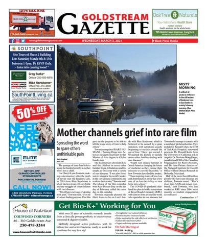 Goldstream News Gazette, March 3, 2021