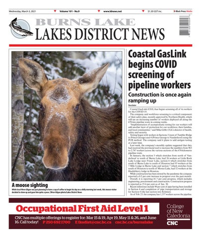 Burns Lake Lakes District News, March 3, 2021