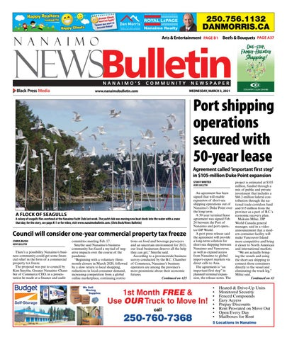 Nanaimo News Bulletin, March 3, 2021