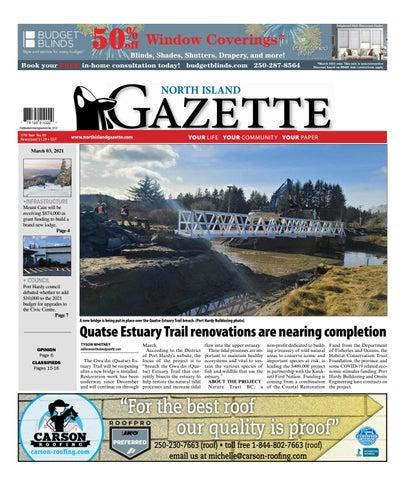 North Island Gazette, March 3, 2021