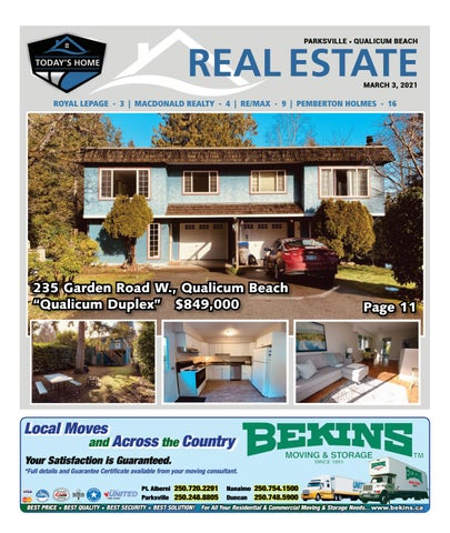 March 03, 2021 Parksville Qualicum Beach News