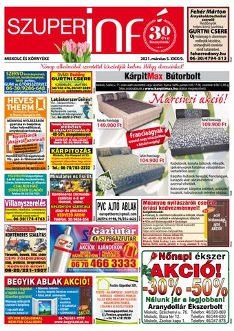 Miskolc, 2021.03.05