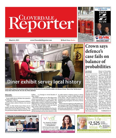 Cloverdale Reporter, March 4, 2021