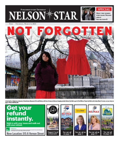 Nelson Star/West Kootenay Advertiser, March 4, 2021