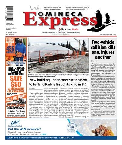 Vanderhoof Omineca Express/Stuart Nechako Advertiser, March 4, 2021