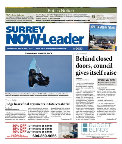 Surrey Now Leader, March 4, 2021