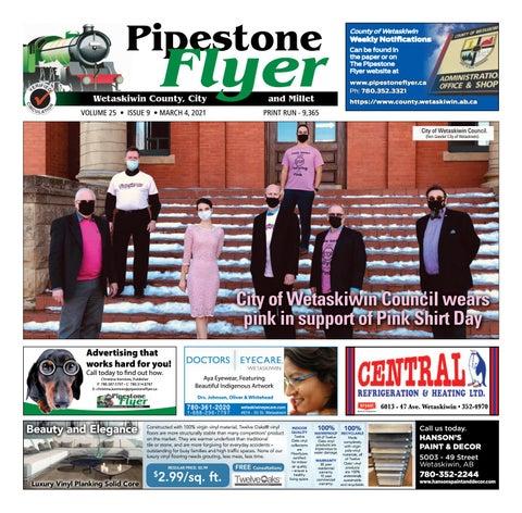 Wetaskiwin/Millet Pipestone Flyer, March 4, 2021