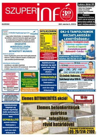 Hajduboszormeny 2021.03.05