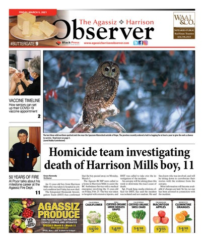 Agassiz Observer, March 5, 2021