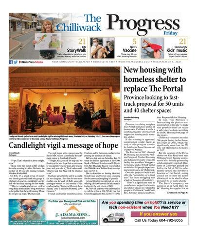 Chilliwack Progress, March 5, 2021