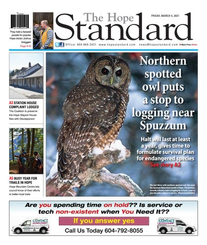 Hope Standard, March 5, 2021