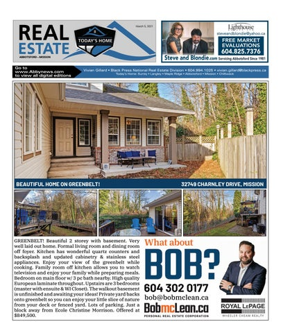 March 05, 2021 Real Estate Weekly - Abbotsford