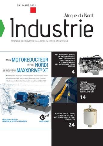 Industrie Afrique du Nord | 29 - Mars 2021