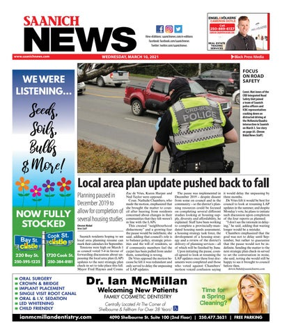 Saanich News, March 10, 2021