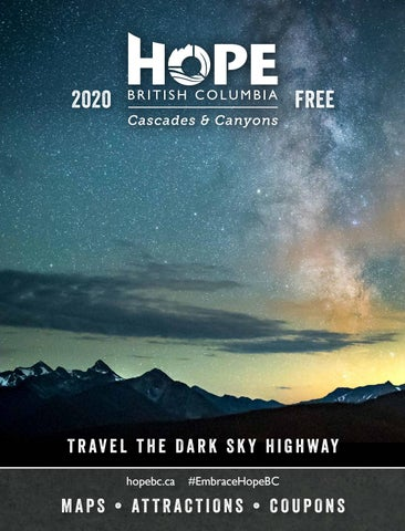 Hope Cascades & Canyons Visitor Guide 2020 - 2021