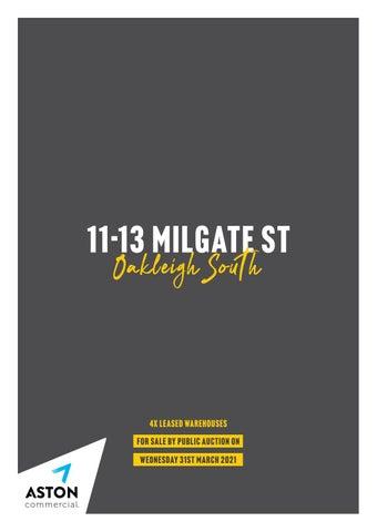 11-13 Milgate Street, Oakleigh South