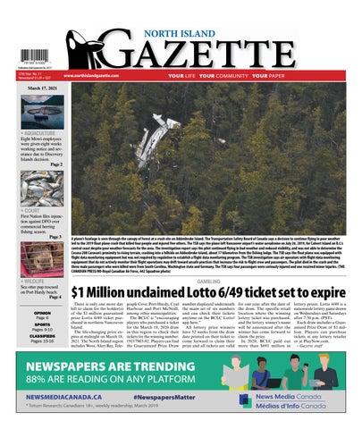 North Island Gazette, March 17, 2021