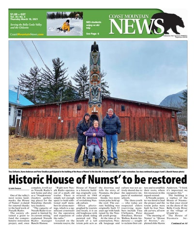 Coast Mountain News, March 18, 2021