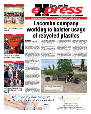 Lacombe Express, March 18, 2021