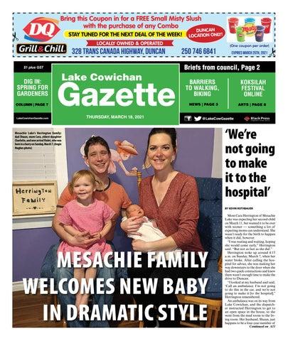Lake Cowichan Gazette, March 18, 2021