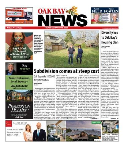 Oak Bay News, March 18, 2021