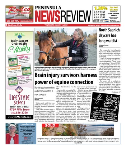 Peninsula News Review, March 18, 2021