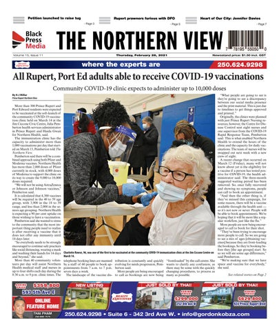 The Northern View/Northern Connector, March 18, 2021