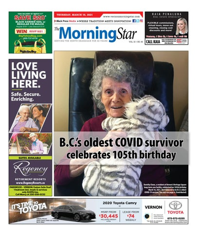 Vernon Morning Star, March 18, 2021