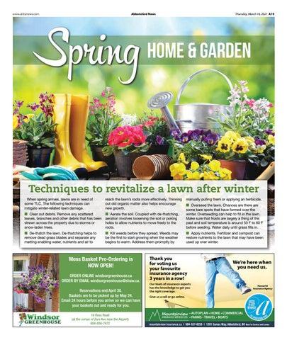 Spring Home & Garden March 2021