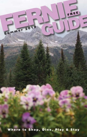 Fernie Summer Guide 2019