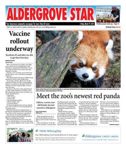 Aldergrove Star, March 19, 2021