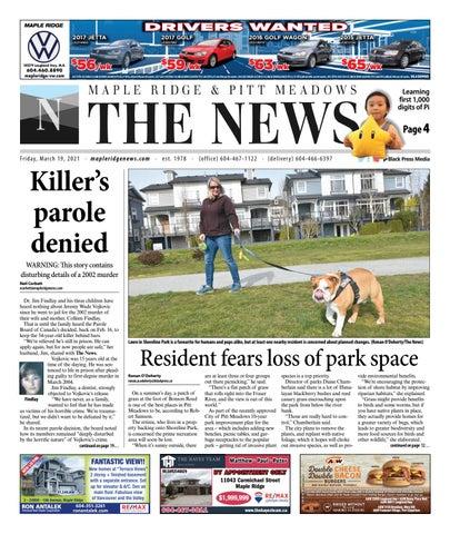 Maple Ridge News, March 19, 2021