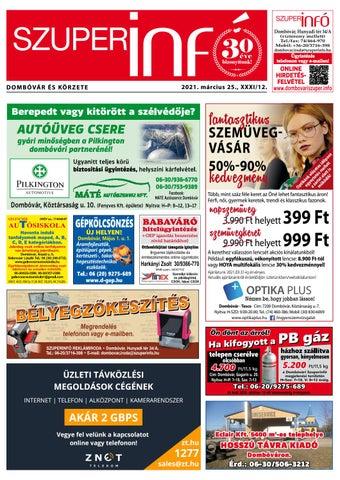 Dombóvári Szuperinfó 2021. 12. szám