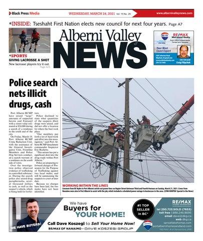 Alberni Valley News, March 24, 2021