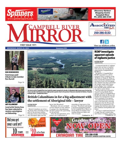 Campbell River Mirror, March 24, 2021