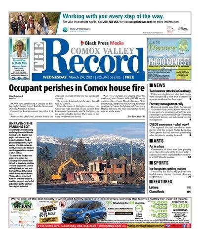 Comox Valley Record, March 24, 2021