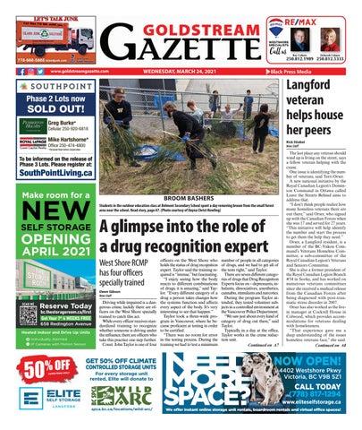 Goldstream News Gazette, March 24, 2021
