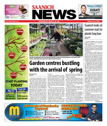 Saanich News, March 24, 2021