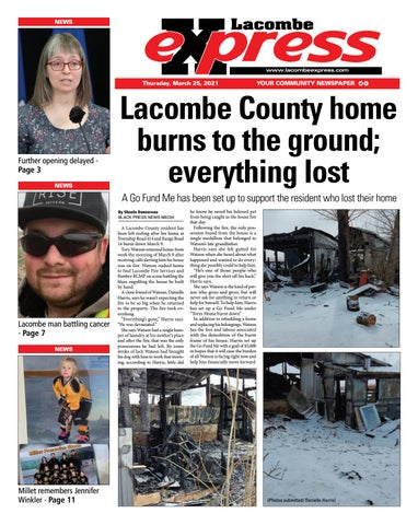 Lacombe Express, March 25, 2021